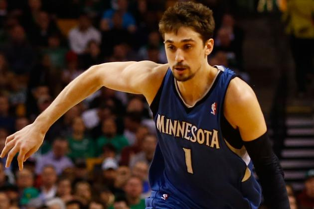 Alexey Shved Leaves Game with Ankle Injury