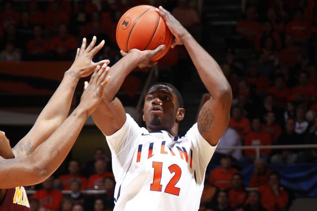 Northwestern 68, No. 23 Illinois 54