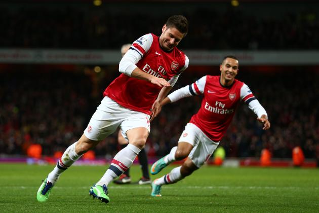 Arsenal: Why Olivier Giroud Is the Best Striking Option Arsene Wenger Has