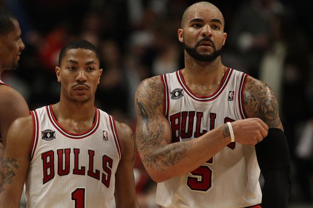 Carlos Boozer's Great Run Will End When Derrick Rose Returns