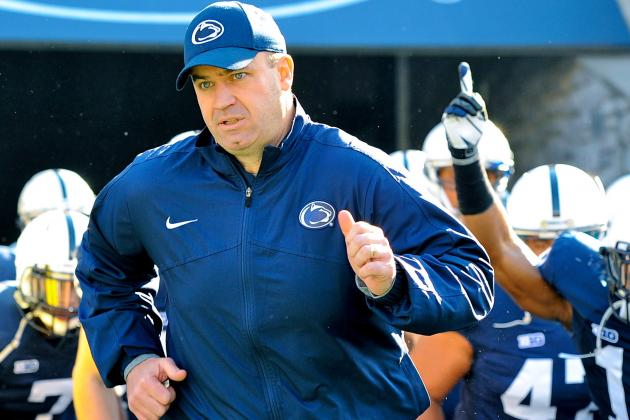 Penn State HC Bill O'Brien Wins 2012 Paul 'Bear' Bryant Coach of the Year Award