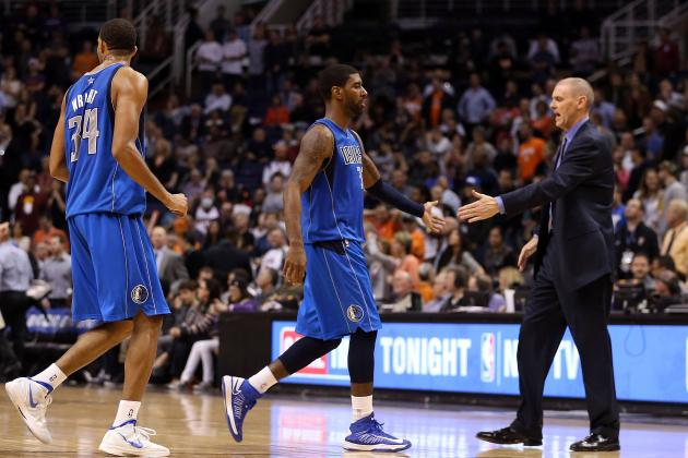 Rick Carlisle Gives O.J. Mayo Some Tough Halftime Love