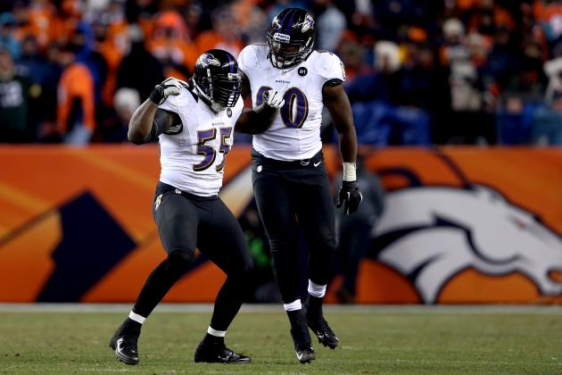 AFC Championship Game 2013: Revitalized Pass Rush Key for Ravens vs. Patriots