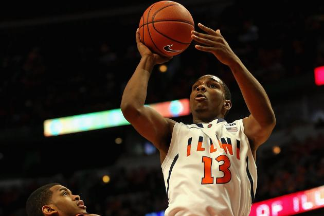 No. 23 Illini Defeated by Wildcats, 68-54