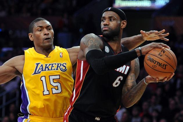 Heat 99, Lakers 90
