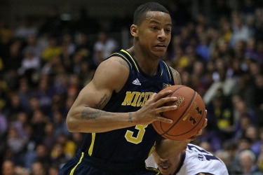 After Ripped Jersey, Trey Burke Goes on Tear for Michigan