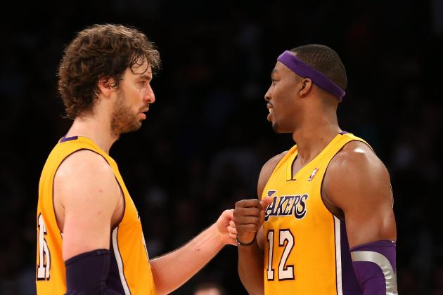 Why L.A. Lakers' Dwight Howard and Pau Gasol Can't Play Together