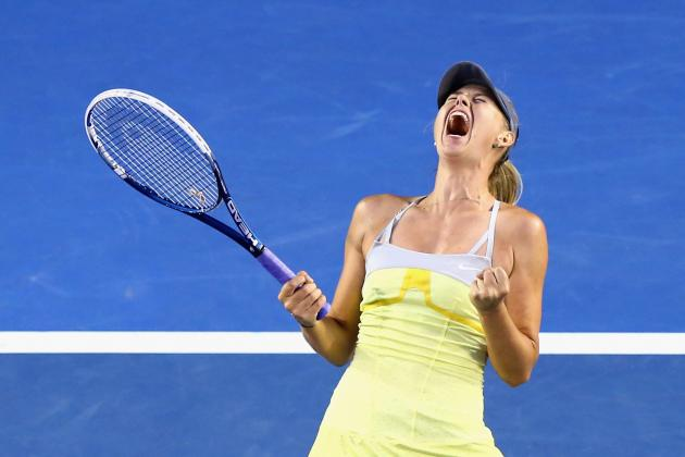 Is Maria Sharapova on the Road to Another Australian Open Crown?
