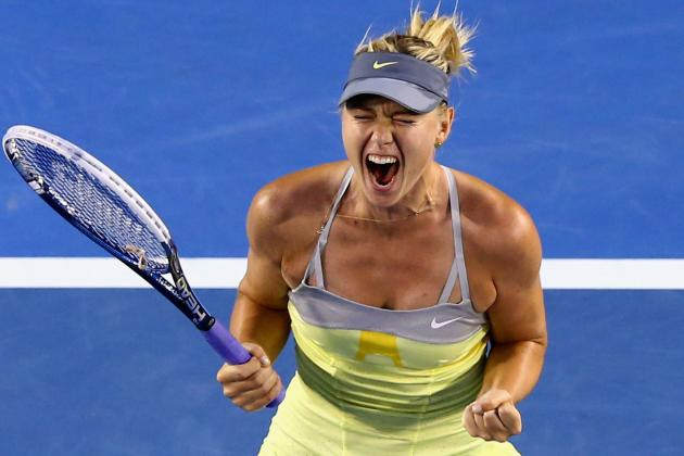 Sharapova Stops V. Williams to Reach 4th Round
