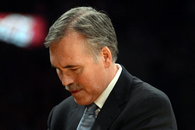 Mike D'Antoni Points to Turnovers for Lakers' Loss to Miami