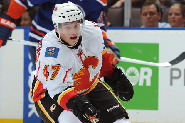 Flames Rookie Baertschi Earns Roster Spot Heading into Season