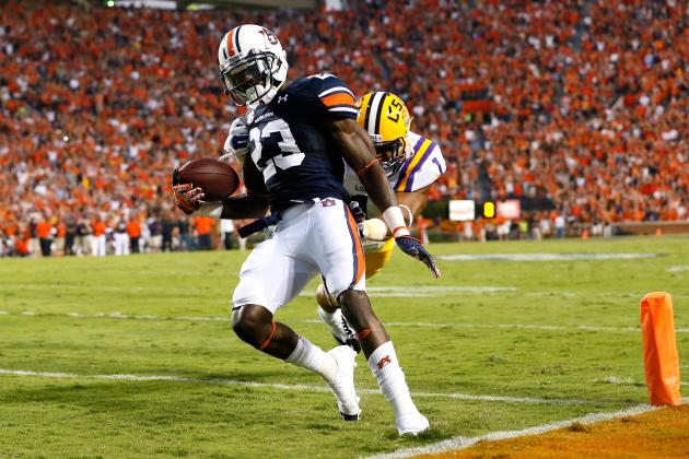 Auburn RB Onterio McCalebb Will Play in Senior Bowl