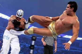 Rey Mysterio: How Would His Return Affect Alberto Del Rio's Face Status?