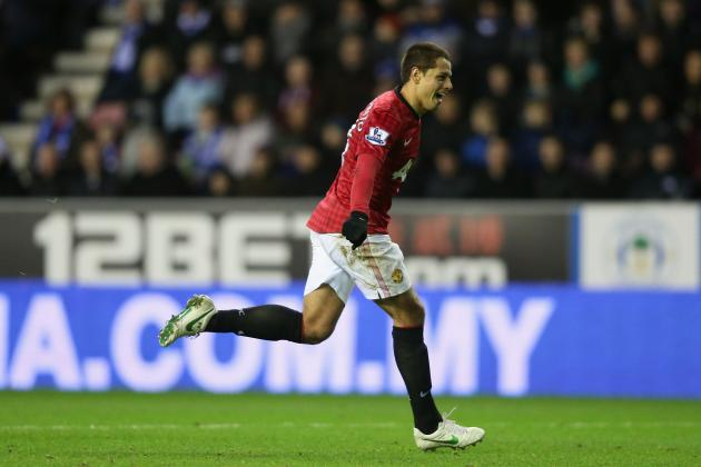 Manchester United Transfer Rumors: Latest on Chicharito, Wilfried Zaha and More