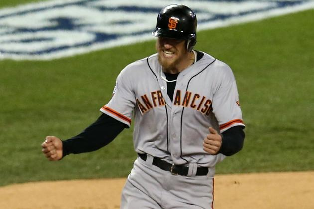 Hunter Pence Gets $13.8 Million to Avoid Arbitration with Giants