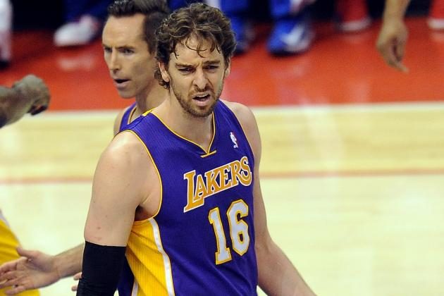 Pau Gasol 'Probably Not' Open to Coming Off the Bench