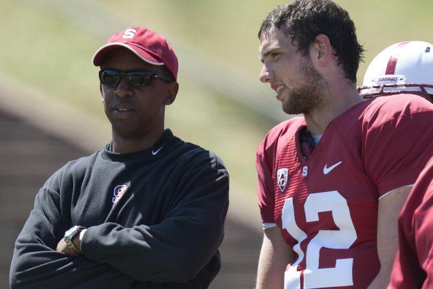 Report: Stanford's Pep Hamilton Tops Colts' OC List