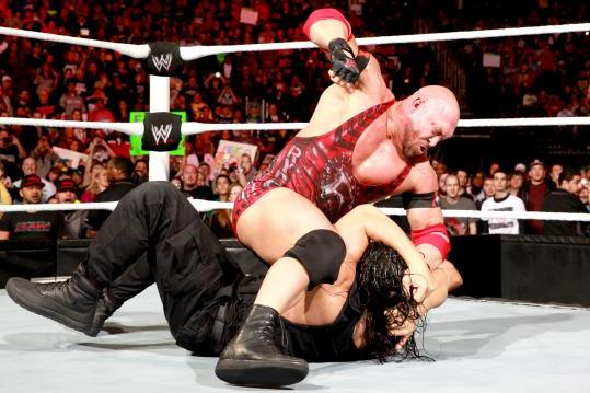 Why Is Ryback Constantly Being Stopped by the Shield?