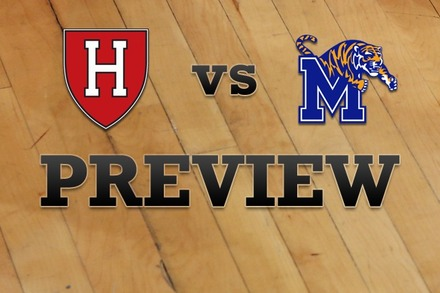 Harvard vs. Memphis: Full Game Preview