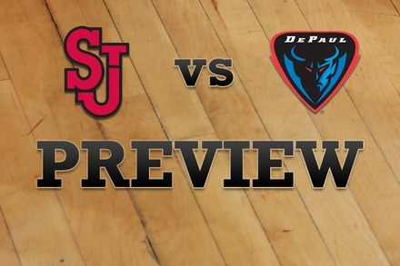 St John's vs. DePaul: Full Game Preview