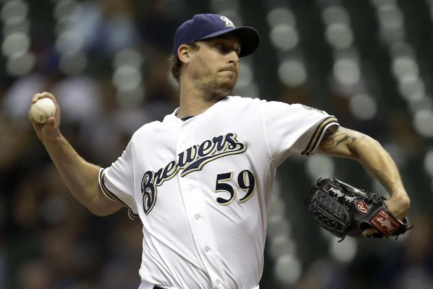 Brewers, Axford Agree to 1-Year Deal to Avoid Arbitration