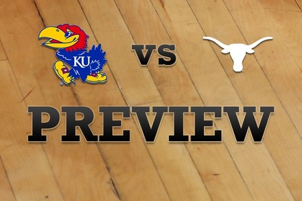 Kansas vs. Texas: Full Game Preview