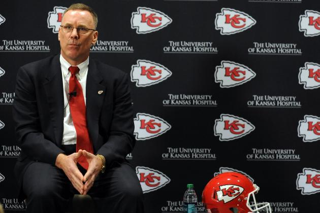 Chiefs Tamp Down Expectations for This Year's First Overall Draft Pick
