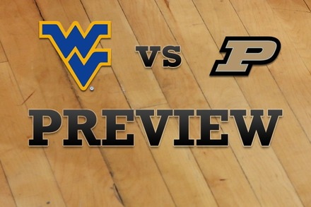 West Virginia vs. Purdue: Full Game Preview