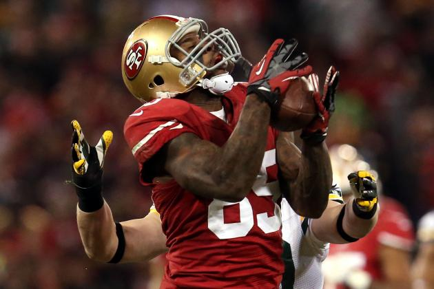 Vernon Davis Feeling 'Unstoppable' After Catch