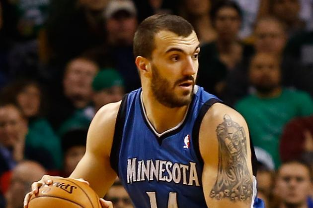 Pekovic out 7-10 Days with Quad Bruise