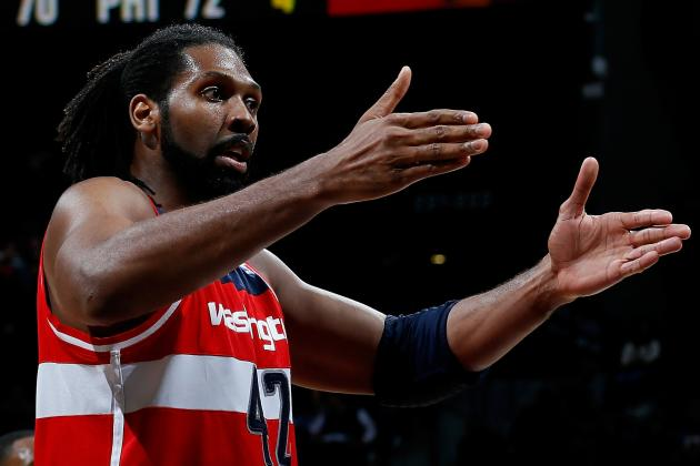 Former Nugget Nene Back in Denver with Washington Wizards