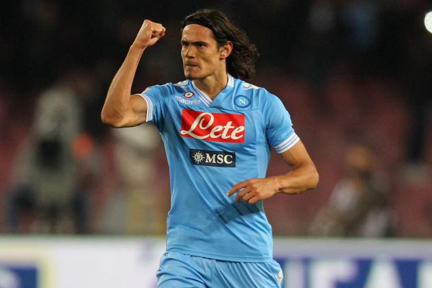 Napoli President Wants Cavani to Stay