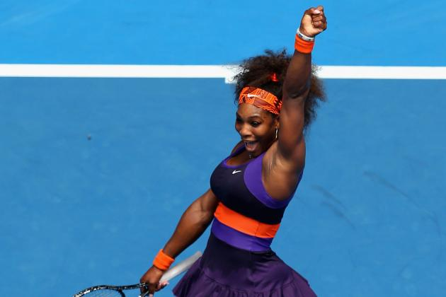 Dissecting Serena Williams' Remaining Path to the Australian Open 2013 Final