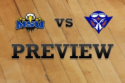 Morehead State vs. Tennessee-Martin: Full Game Preview