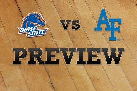 Boise State vs. Air Force: Full Game Preview
