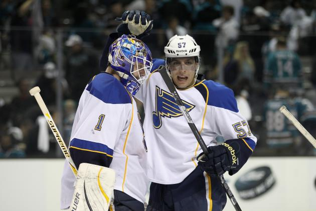 Central Champion Blues Eager to Get Started vs. Red Wings
