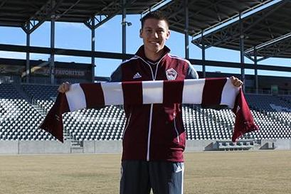 Rapids Sign Dillon Serna of Brighton as Homegrown Player