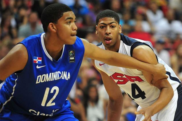 Kentucky Basketball: Kentucky-Commit Karl Towns Jr. Puts Up a Quadruple-Double