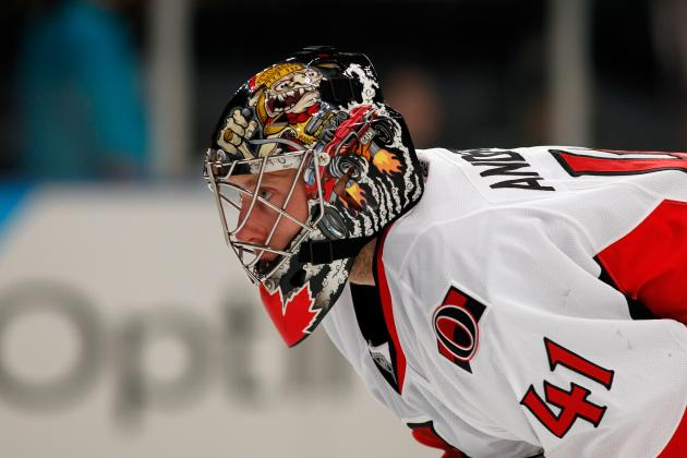 Craig Anderson to Start in Goal vs. Jets