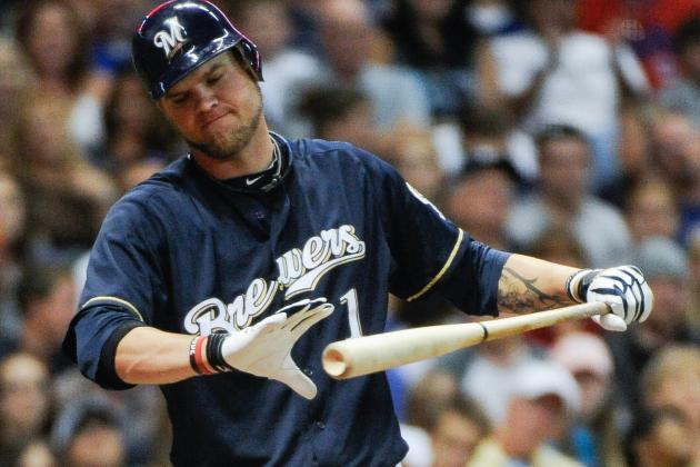 Brewers 1B Corey Hart to Miss First 6 Weeks of Regular Season After Knee Surgery