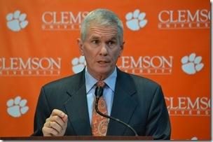Clemson President Undergoes Quintuple Bypass Surgery