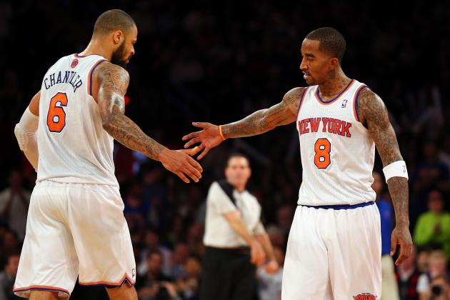 Which New York Knick Deserves NBA All-Star Nod More, JR Smith or Tyson Chandler?