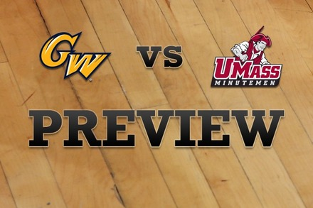 George Washington vs. Massachusetts: Full Game Preview