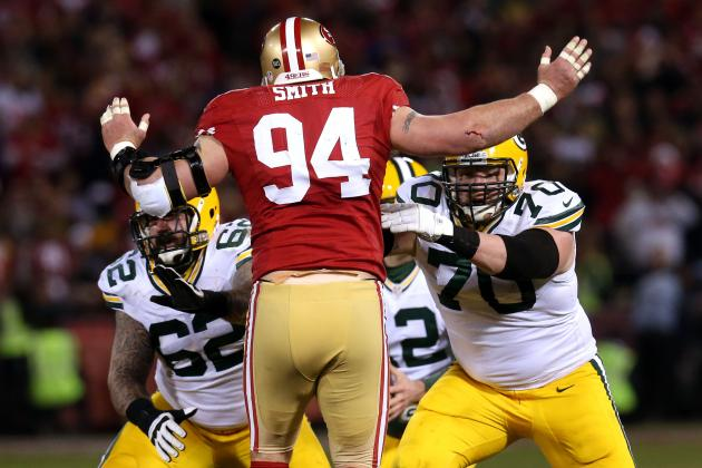 Justin Smith: Why He Is the 49ers' X-Factor for the NFC Championship