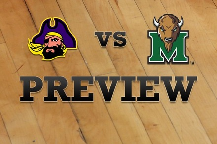 East Carolina vs. Marshall: Full Game Preview