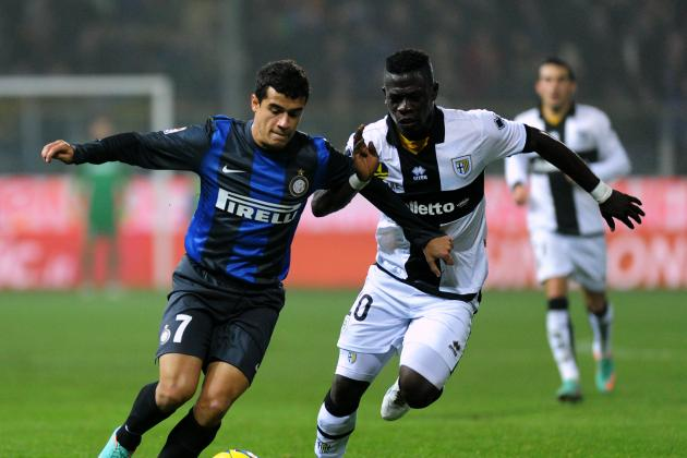 Liverpool Make £8m Bid for Internazionale's Philippe Coutinho