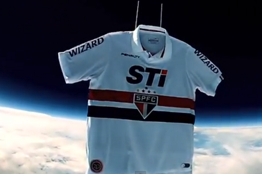 Sao Paulo Unveiled Their New Kit By Sending It Into The Stratosphere