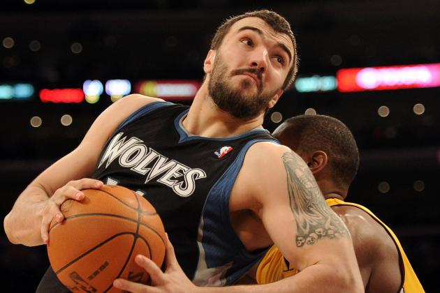 Pekovic out with Badly Bruised Leg