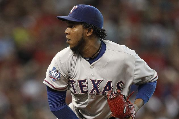 Neftali Feliz Plays Catch for First Time Since Tommy John Surgery