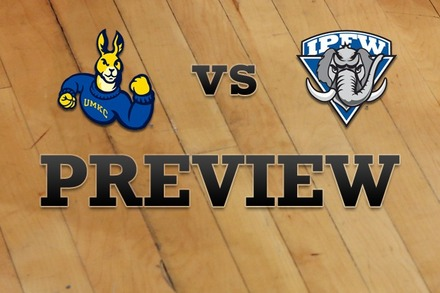 UMKC vs. IPFW: Full Game Preview